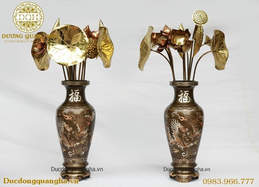 lọ hoa đồng thờ cúng